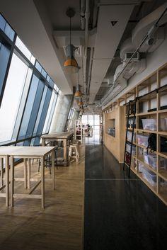 Office Interior Design and Build for JadoPado by Paul Sebright paul.sebright@cc-mena.com , via Behance #cambridge #interior #design