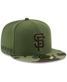 New Era San Francisco Giants Memorial Day 59FIFTY Cap - Green 7 1/4