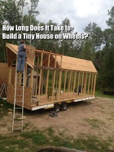 Q&A: How Long Does it Take to Build a Tiny House?