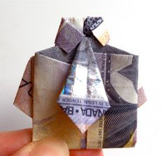 So I was thinking...: Another creative way to gift money as a birthday gift