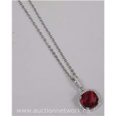 Dallas Cole - Custom Necklace Pendant with Swarovski Elements. - Auction Network