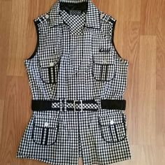 Coogi Vest shirt Coogi vest shirt black  and white COOGI Tops