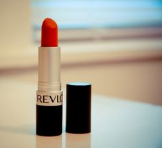 revlon really red (dupe MAC ruby woo) and my signature red lips at every party is this shade!!!