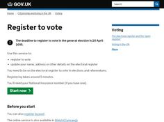 Still time to register for your vote
