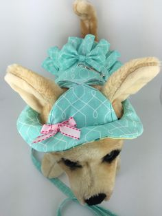 Beautiful Teal Dog Harness by BlackdogApproved on Etsy