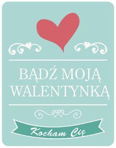 Etykietki Na Walentynki Do Pobrania Etykietki Pinterest Blog