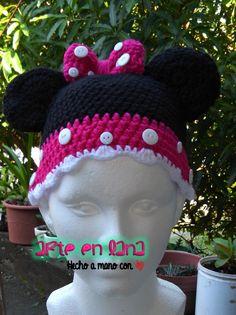 Gorro Minne a #crochet