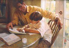 Teach them to Understand -Walter Rane  fine art print