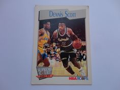 Dennis Scott NBA Hoops Supreme Court 1991-92 Basketball Collection Cards.
