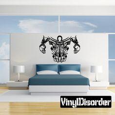Fantasy Zodiac Wall Decal - Vinyl Decal - Car Decal - DC 8037