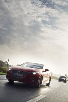 Stage6: The All-New Mazda3 drove 400km to Moscow.