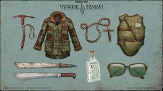 a new russian game Apocalypse Survivor, Nuclear Apocalypse, Apocalypse World, Apocalypse Art, Armor Concept, Weapon Concept Art, Fantasy Armor, Fantasy Weapons, Fallout Rpg