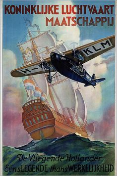 KLM. The Flying Dutchman. 1920s | Flickr - Photo Sharing!