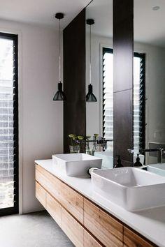 Doppelwaschtisch mit Aufsatzbecken -sets-weiss-viereck-gerundet-holz-waschschrank-schwarz-spiegel