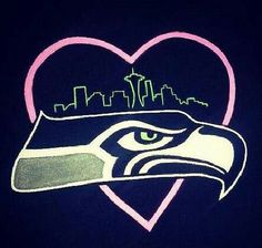 Seahawks/Seattle Would want to add something mariners too. Seattle Seahawks, Seahawks Football, Broncos, Seattle Mariners, Nfl Football Teams, Best Football Team, Sports Teams, Mlb, 12th Man