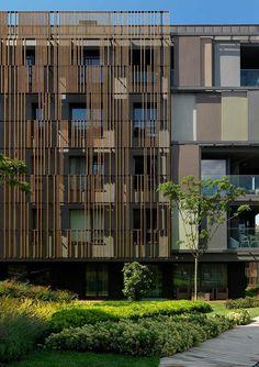 ds landscape architecture / ulus savoy housing, ulus beşiktaş İstanbul (architecture: emre arolat)