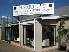 Harrie's Pancake in Dullstroom is one of our favourite pancake shops in South Africa! Put this on your bucket list - especially if you are on your way to the Kruger. Make the detour via Dullstroom. You will not only miss an expensive toll road, but you will have an absolutely brilliant pancake with a big variety of fillings to chose from. #Harriespancakes #Dullstroom