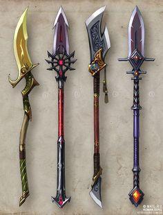 fantasy spear design - Google Search