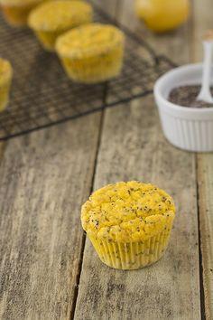 Lemon Chia Seed Muffins (Paleo, Grain Free, Gluten Free) @Amy Lyons Jabara Palate