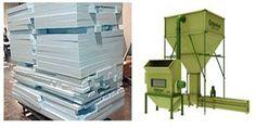xps máquina de reciclaje
