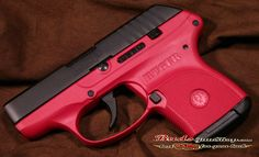 Raspberry Ruger. Nice. Probably will get this when I get my concealed carry. :)