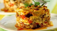Eggplant Moussaka with Sheep's Milk Cheese