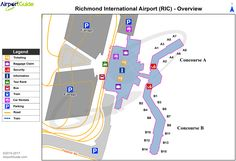 La Guardia Airport Map