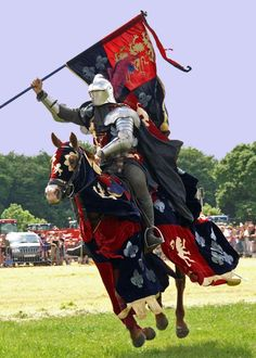 The elegance that makes a jousting tournament one of the most unusual equestrian