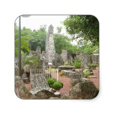 Get your hands on great customizable Coral stickers from Zazzle. Coral Castle Florida, Places Ive Been, Stickers, Adventure, Travel, Design, Viajes, Destinations