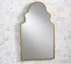 pottery barn - stella-powder-room-mirror