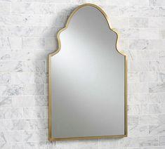 pottery barn - stella-powder-room-mirror