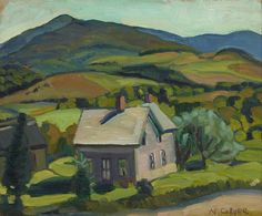 Eastern Townships by Nora Collyer
