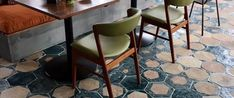 www.cottoetrusco.it en portfolio.html Glazed Tiles, Town And Country, Dining Chairs, Surface, Flooring, Rugs, Gallery, Table, Furniture