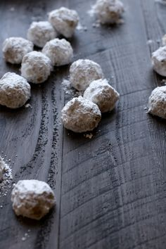 ookies for the sake of cookies, for the sake of December, for the sake of Christmas, and just so we can stand at the kitchen counter and count how many of these warm, nutty, powdered sugar bites we can shove into our mouths. The answer is 3.5.  That's how many cookies fit in a mouth.Read more