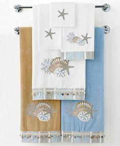 Sherry Kline Piece Juliet Striped Decorative Towel Set Click - Decorative bath towel sets for small bathroom ideas