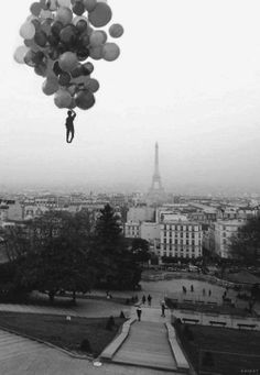 'The Red Balloon' (French: Le Ballon rouge), 1956, directed by Albert Lamorisse. ☚
