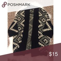 Forever 22 Cardigan cute printed cardigan/ cover up from Forever 21! size: small ; up for different offers 😊 Forever 21 Sweaters Cardigans