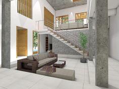 Kerala house interior design Architectural Services, Kerala Houses, Amazing Architecture, Urban Design, Home Interior Design, Stairs, Interiors, City, Home Decor