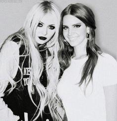 Taylor Momsen ✾ and Lana Del Rey ✾