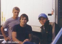 Charlie Hunnam  ...and Ian. The series Young Americans, they both starred in it and it only lasted a season.