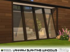This set has several slanting windows that matches the skylights, you can use…