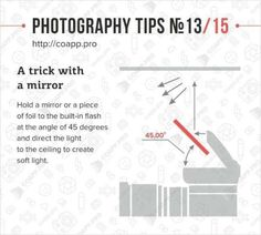 Photography tips - On camera flash