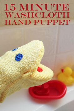 Washcloth Hand Puppet you can make in 15 minutes.Makes bath time fun. – Washcloth Hand Puppet you can make in 15 minutes.Makes bath time fun. Sewing Toys, Baby Sewing, Sewing Crafts, Sewing Projects, Homemade Gifts, Diy Gifts, Marionette, Operation Christmas, Hand Puppets