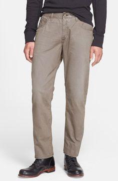 rag & bone Slim Fit Distressed Twill Pants