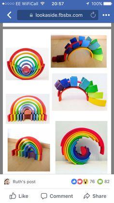 Young Toddler Activities, Toddler Fun, Infant Activities, Preschool Activities, Grimm's Toys, Kids Toys, Outside Activities For Kids, Crafts For Kids, Grimms Rainbow