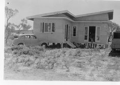 Gold Coast, 1950s. Fibro beach house.