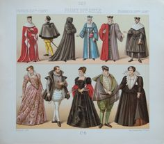 Clothes in France at the 16th Century