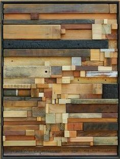 Projects with wood. de madera reciclada Heather Patterson - Between the Lines Antique Window Frames, Antique Windows, Diy Wood Projects, Wood Crafts, Pallet Crafts, Pallet Art, Reclaimed Wood Art, Repurposed Wood, Wood Wood