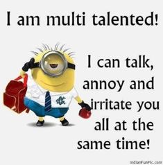 Minion Quotes & Memes Top 40 Funny despicable me Minions Quotes Top 40 Funny despicable me Minions Quotes I love the minions . Lilo & Stitch Quotes, Amazing Animation Film for Children 32 Snarky and Funny Quotes - 30 Hilarious Minions Q. Funny Minion Pictures, Funny Minion Memes, Minions Quotes, Hilarious Memes, Funny Pics, Funny Shit, Minion Sayings, Minion Humor, Funniest Pictures