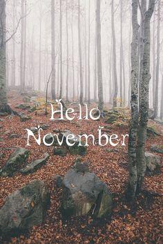 missing uuuu november Hello December Quotes, Hallo November, November Images, Welcome November, November Month, November Rain, New Month, Hello October, November Tumblr